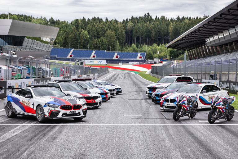 BMW Safety Cars and Mororbikes