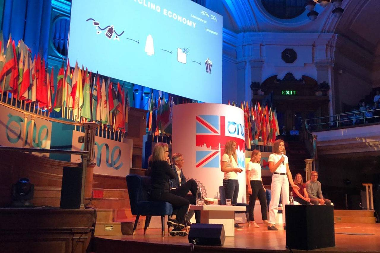 If you want to change something, you have to tackle it - The One Young World Summit London. - Image 2