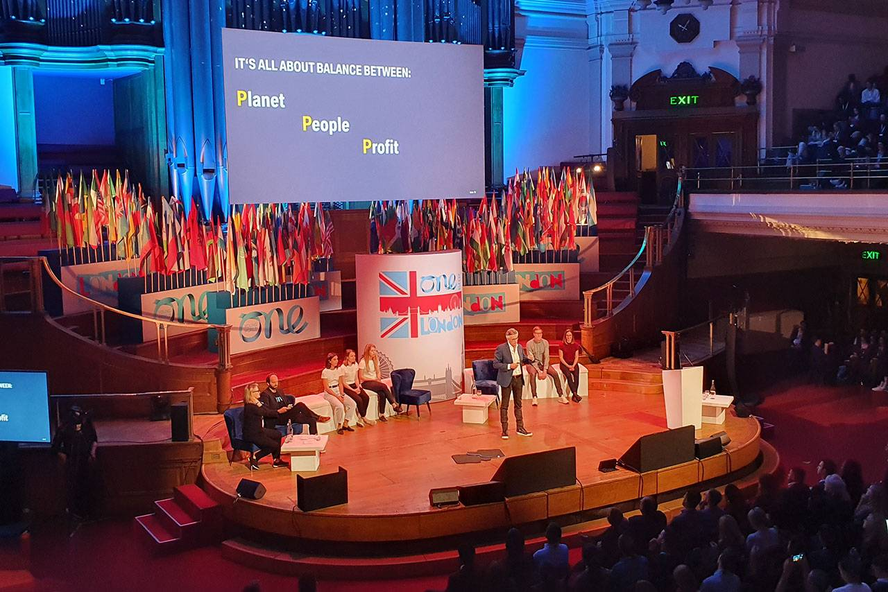 If you want to change something, you have to tackle it - The One Young World Summit London. - Image 1