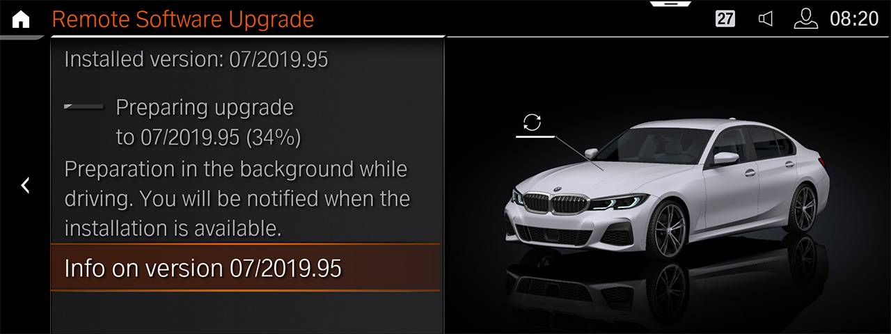Upgrades for half a million BMW vehicles – quick and easy to install, like on a smartphone. - Image 2