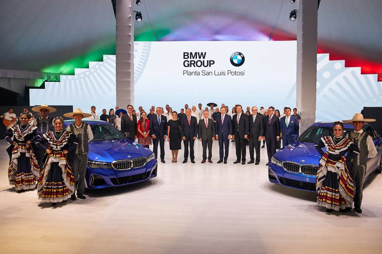 Opening ceremony at the new BMW Group Plant in San Luis Potosí, Mexico
