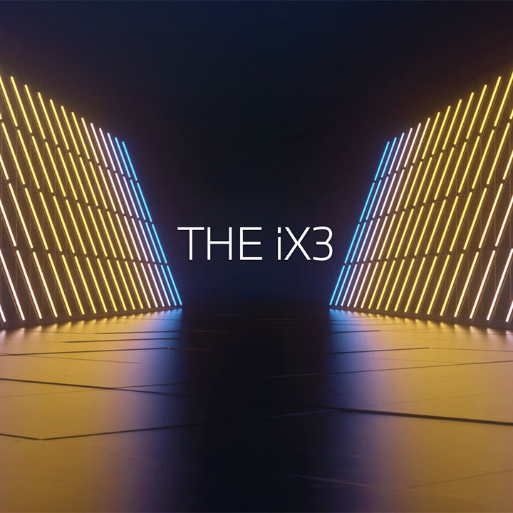 Digital World Premiere of the first-ever BMW iX3.