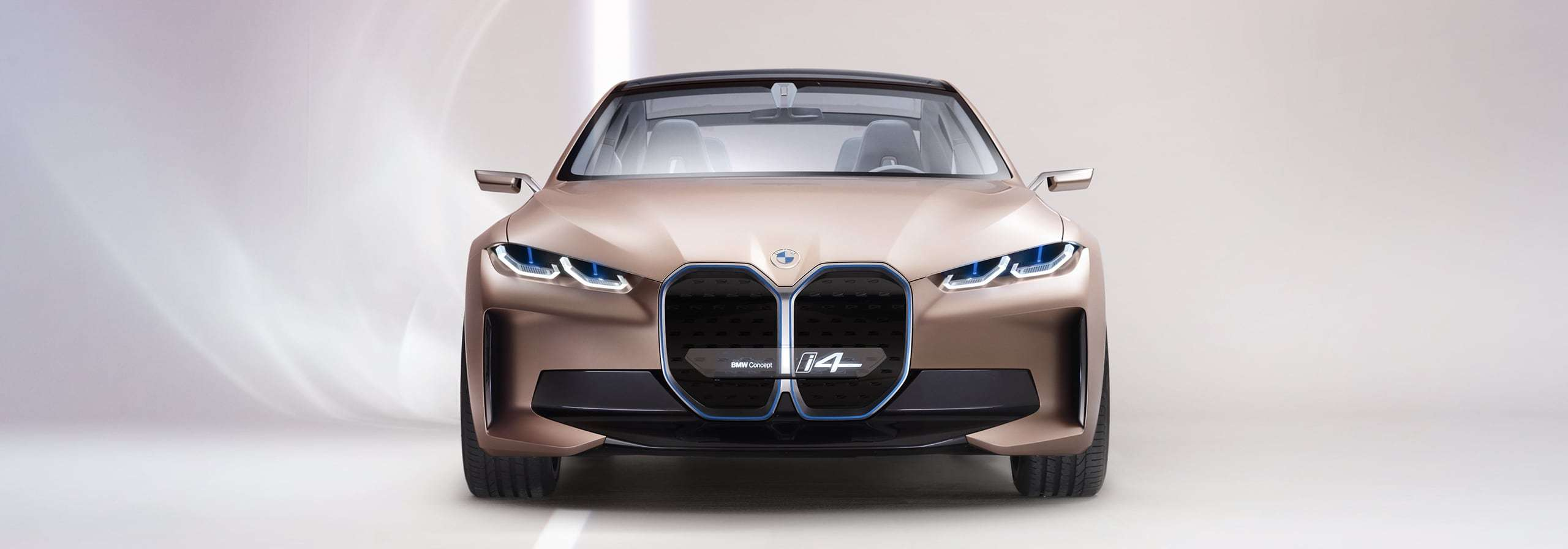 Front view of the BMW i4