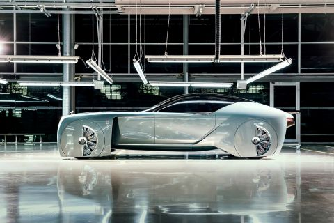 Rolls Royce Vision Car.