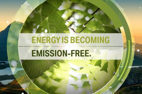 Energy is becoming emission-free.